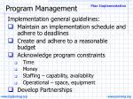 program management29