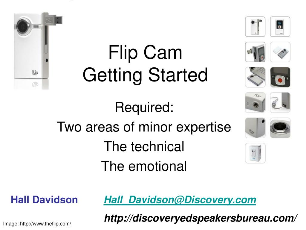 flip cam getting started l.