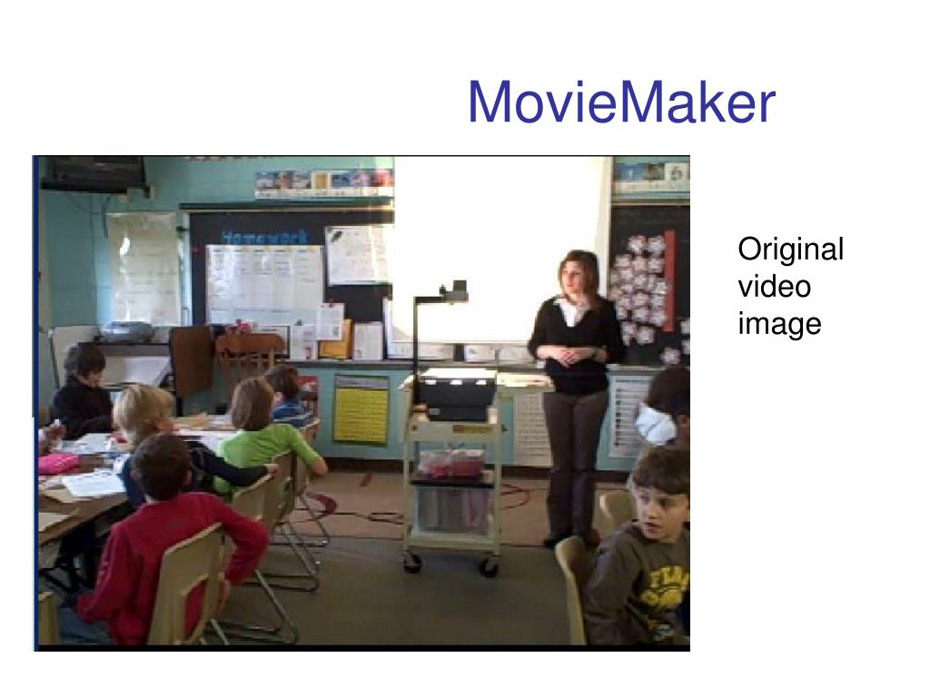 Original video image