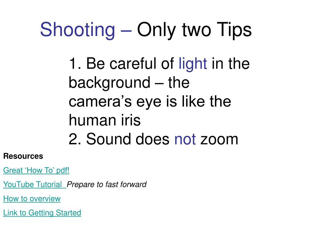 1. Be careful of