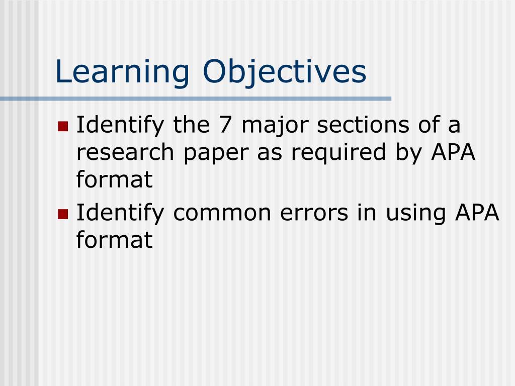 ppt - apa format powerpoint presentation