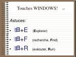 touches windows 2 5
