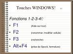 touches windows 3 5