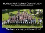 hudson high school class of 2004 human histogram by height boys with hands up29