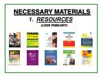 1 resources