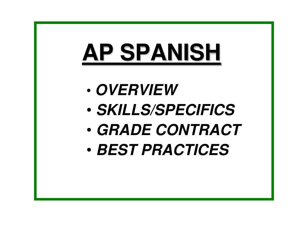ap spanish l.