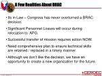 a few realities about brac