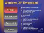 windows xp embedded7