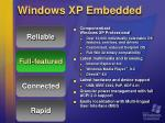 windows xp embedded8