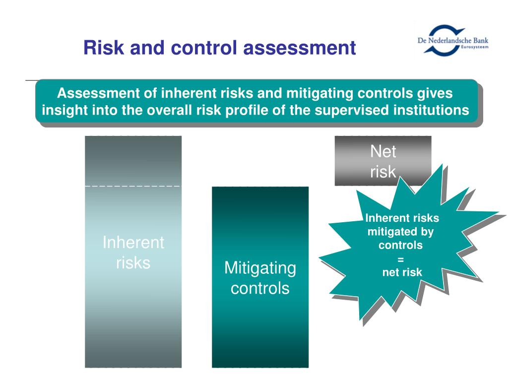 Risk and control assessment