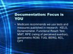 documentation focus is you37