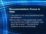 documentation focus is you40