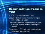 documentation focus is you45