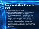 documentation focus is you50
