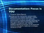 documentation focus is you55