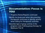 documentation focus is you57