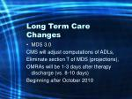 long term care changes10
