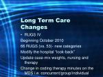 long term care changes11