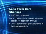 long term care changes12