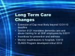 long term care changes13