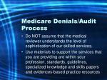 medicare denials audit process18