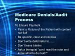 medicare denials audit process19