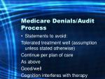 medicare denials audit process21