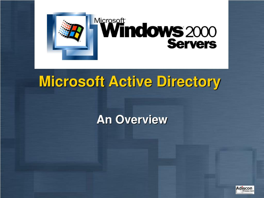 microsoft active directory l.