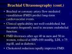 brachial ultrasonography cont