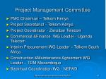 project management committee