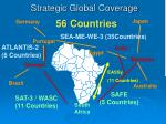 strategic global coverage