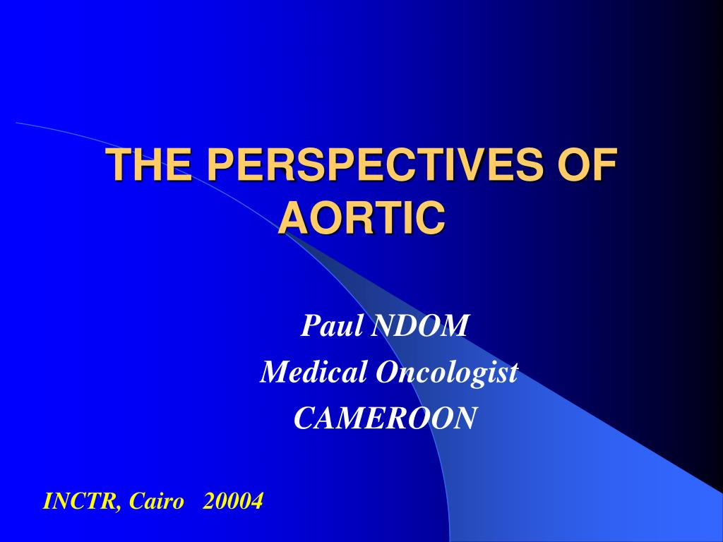 the perspectives of aortic l.