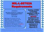 mil l 85762a requirements17