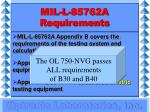 mil l 85762a requirements18
