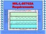 mil l 85762a requirements22