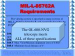 mil l 85762a requirements23
