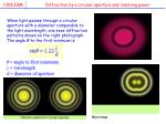 diffraction by a circular aperture and resolving power