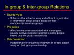 in group inter group relations8