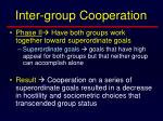 inter group cooperation18