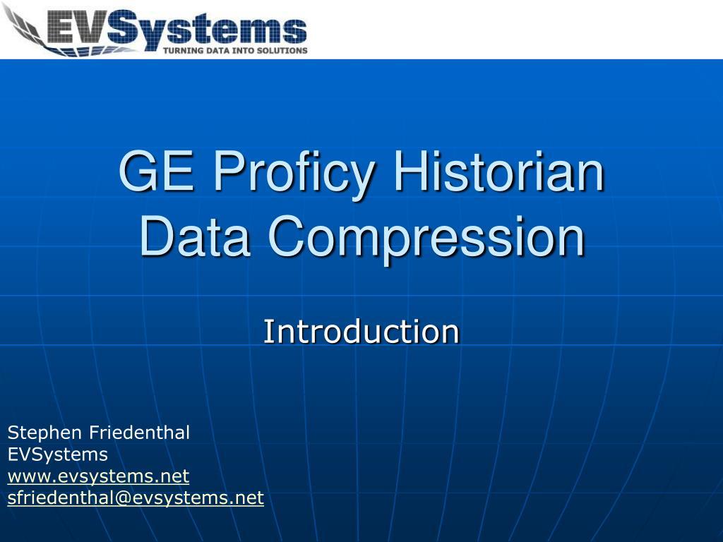 ge proficy historian data compression l.