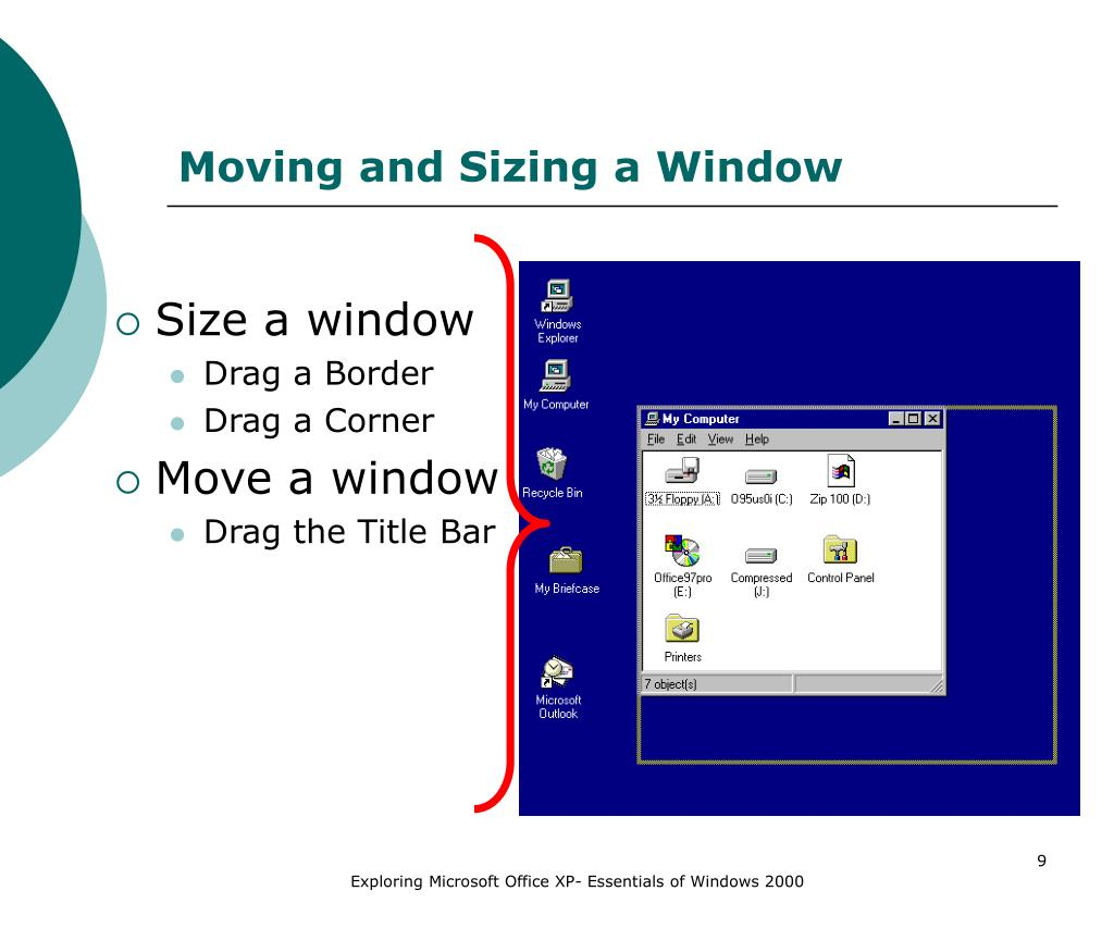 Moving and Sizing a Window