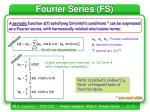 fourier series fs