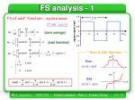 fs analysis 1