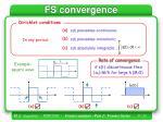 fs convergence