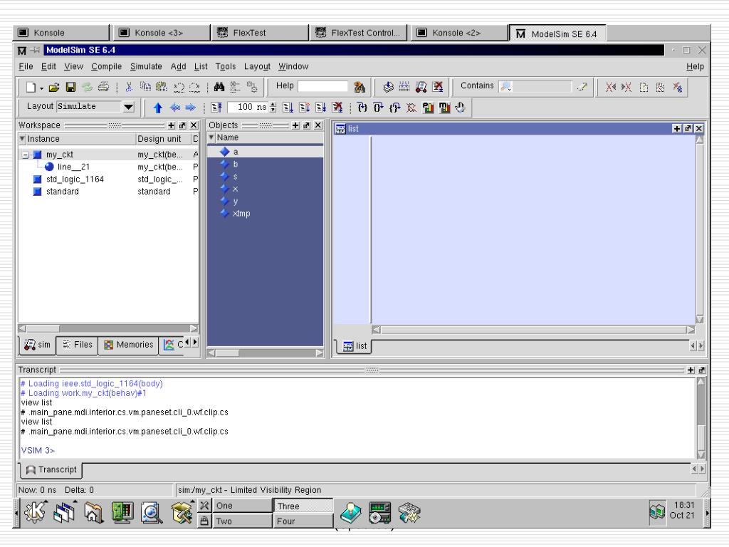 PPT - Lecture 8: Design, Simulation Synthesis and Test Tools