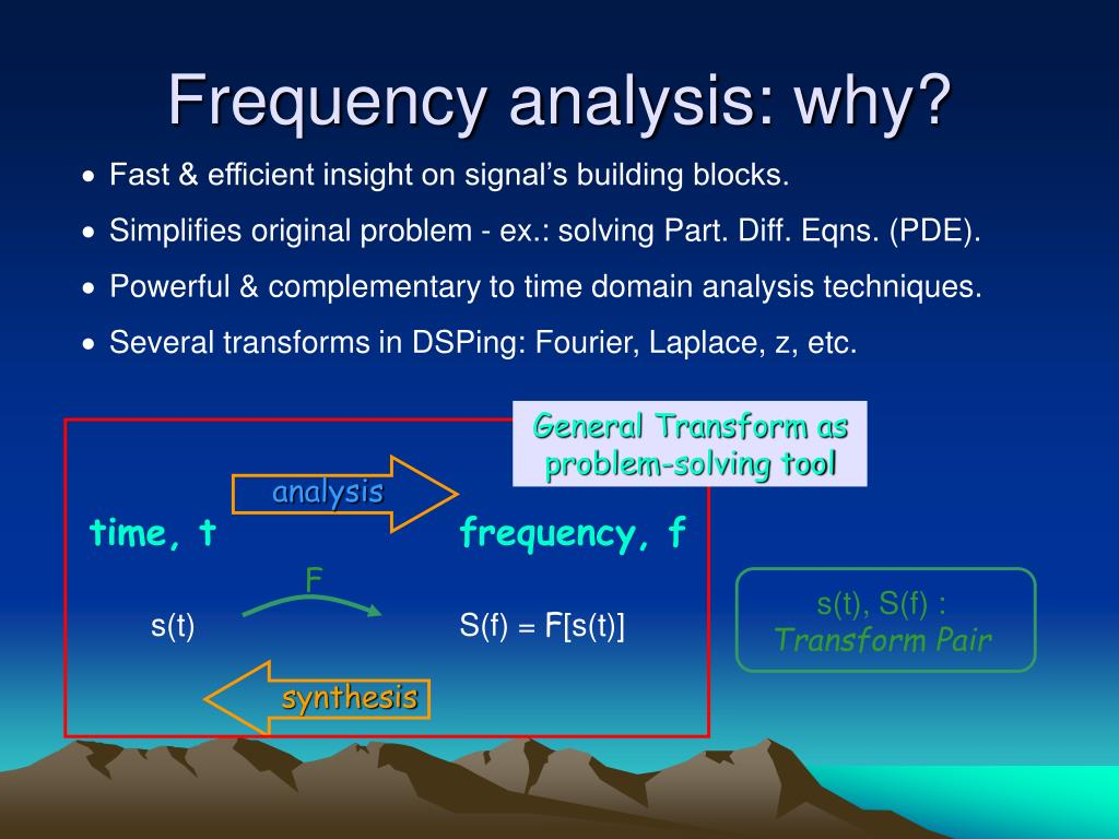frequency analysis why l.