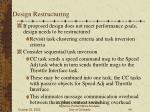design restructuring