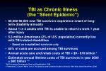 tbi as chronic illness the silent epidemic