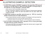 illustrative example detection
