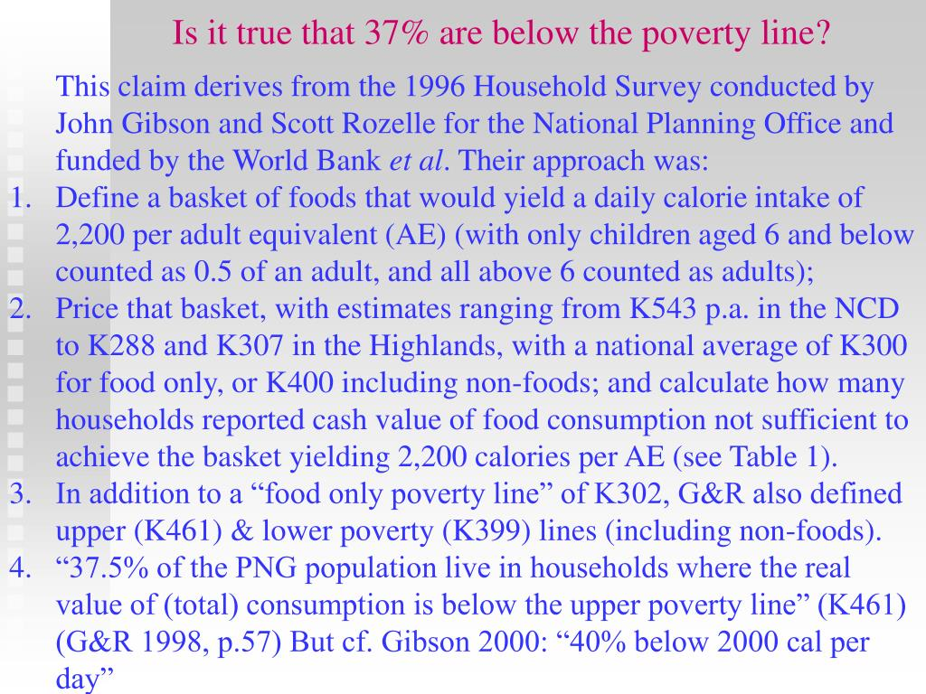 Is it true that 37% are below the poverty line?